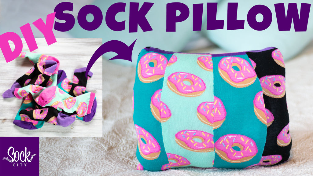 How to Use Socks to Make a Sock Pillow | DIY Decor