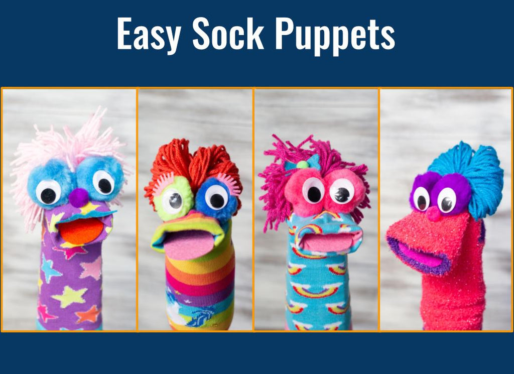 The Cutest Little Sock Puppets Around!