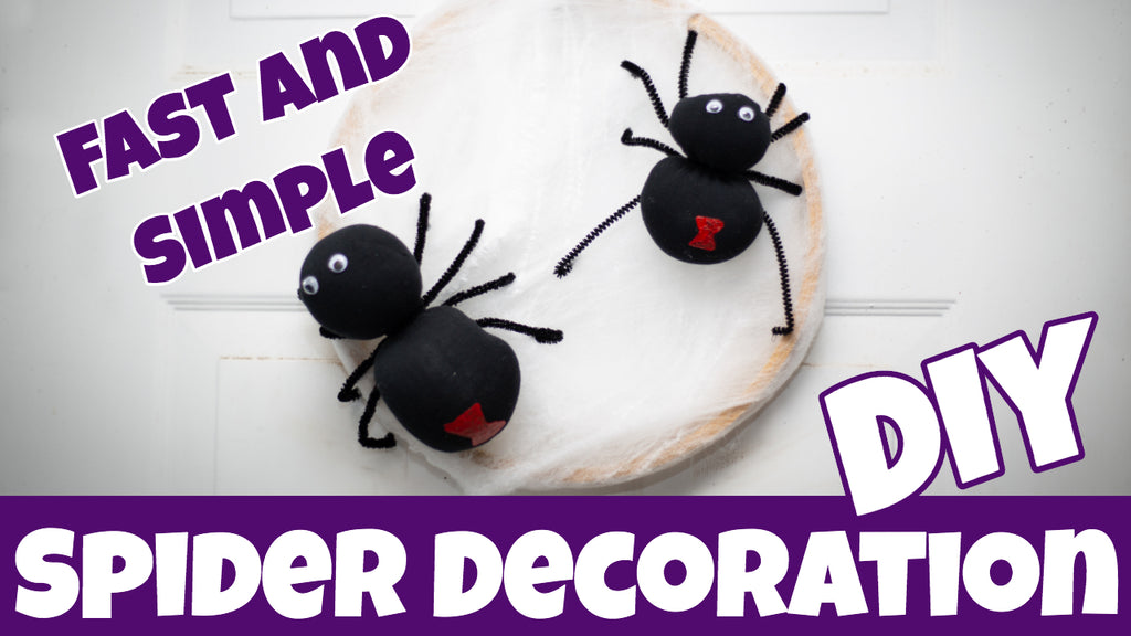 Spider Decoration - Fast and Simple