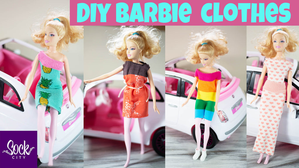 How to Make DIY Barbie Clothes from Socks