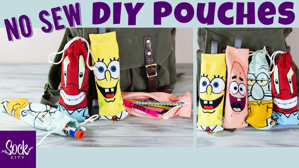 Easy DIY Pencil Case or Make Up Bag | Zippered or Drawstring | No Sew