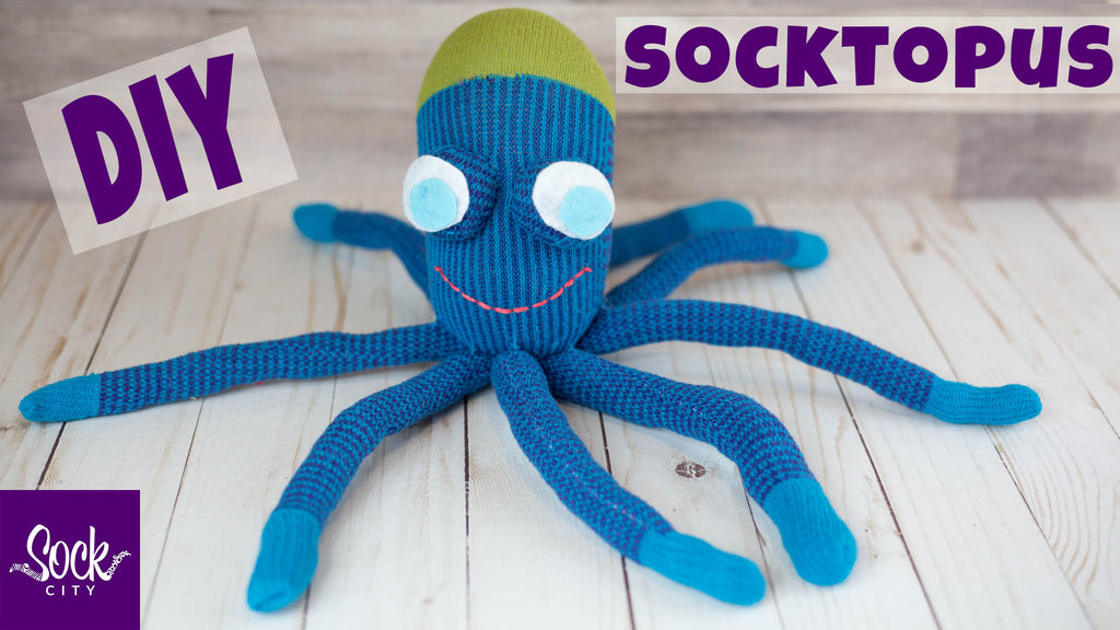 Easy DIY Sock Octopus | SOCKTOPUS