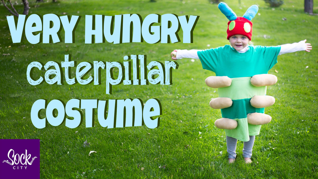 How to Make a Very Hungry Caterpillar Costume