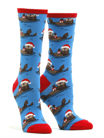 Women's Otterly Merry Socks
