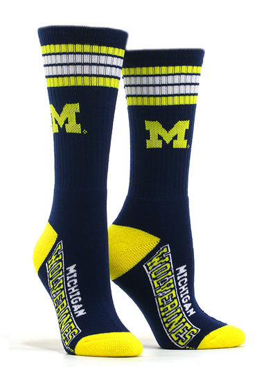 Men's Michigan Wolverines Socks