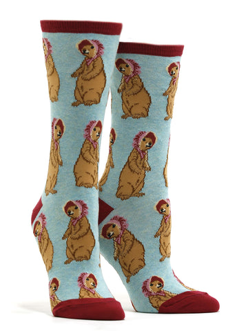 Women's Living On A Prairie Socks