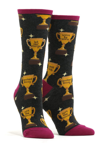 Women's Life Goals Socks