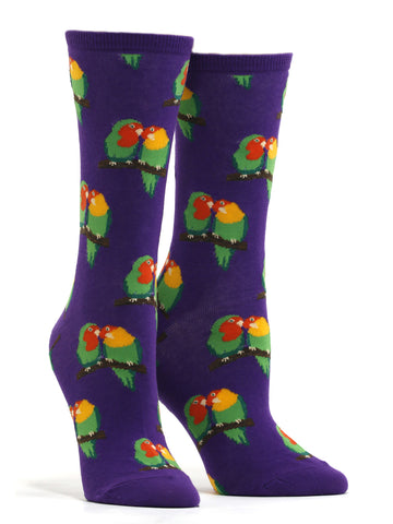 Women's Couple Of Love Birds Socks