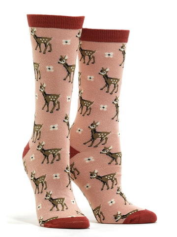 Women's Bamboo Be A Deer Socks