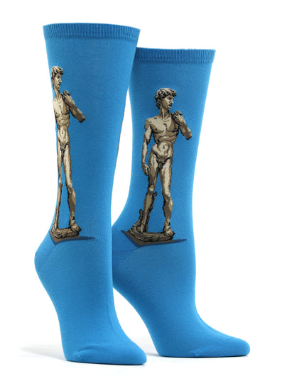 Women's Michelangelo - David Socks