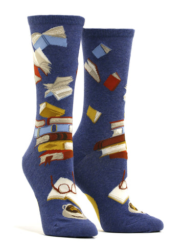 Women's Bibliophile Socks