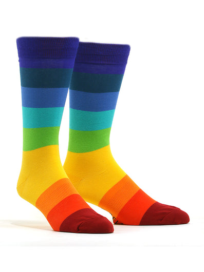 Men's Bright Stripes Socks
