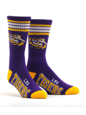 Men's LSU Tigers Socks