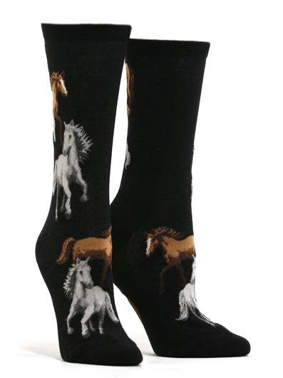 Women's Majestic Horses Socks