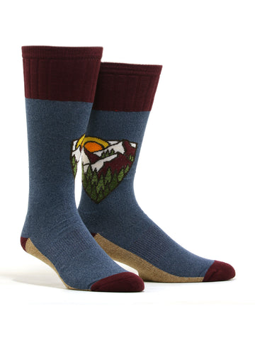 "Men's AtomicChild ""Mountain Top"" Hiking Socks"