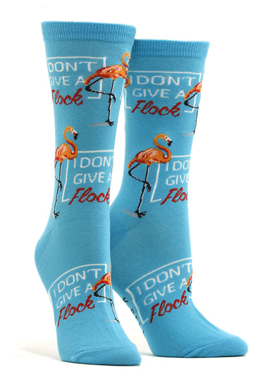 Women's I Don't Give A Flock Socks