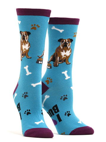 Women's Bulldog Socks