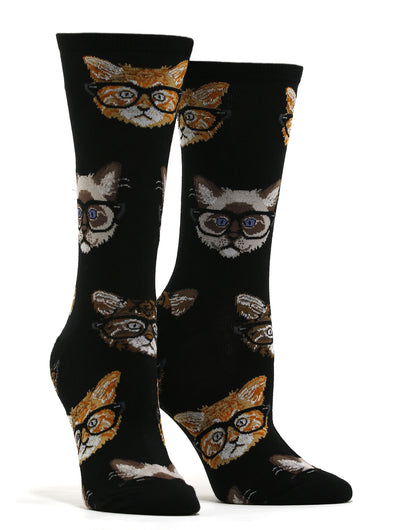 Women's Kittenster Socks