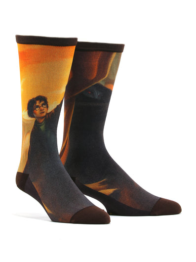 Men's Harry Potter And The Deathly Hallows Socks