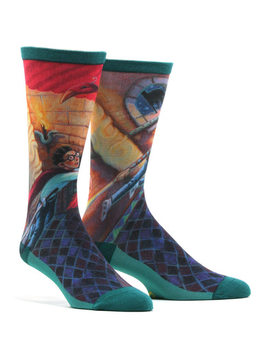 Men's Harry Potter And The Chamber Of Secrets Socks