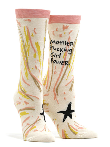 Women's Motherfucking Girl Power Socks