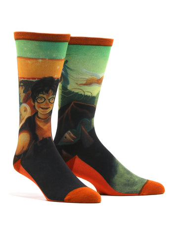 Men's Harry Potter And The Goblet Of Fire Socks
