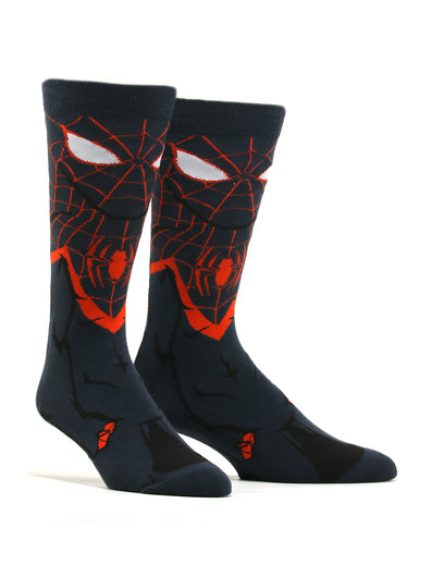 Men's Miles Morales Spiderman 360 Socks