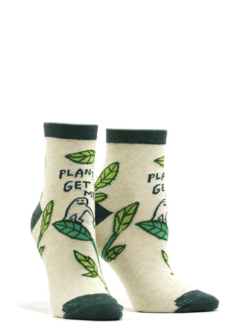 Women's Plants Get Me Socks