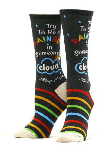 Women's Be a Rainbow Socks