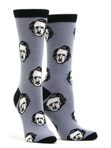 Women's Edgar Allan Poe-ka Dots Socks