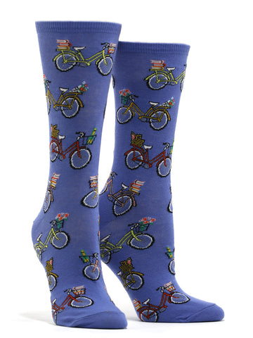 Women's Vintage Bike Socks