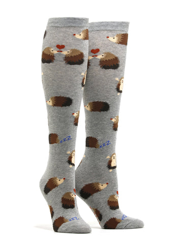 Women's Hedgehog Friends Socks