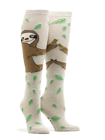 Women's Silly Sloth Socks