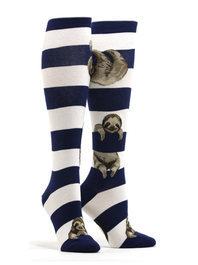 Women's Sloth Stripe Socks