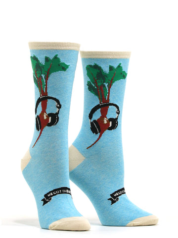 Women's We Got The Beet Socks