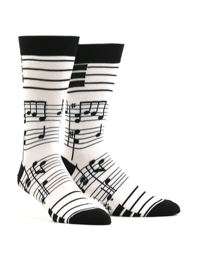 Men's Foot Notes Socks