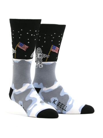 Men's Man On The Moon Socks