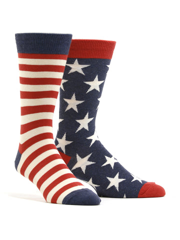 Men's US Flag Socks