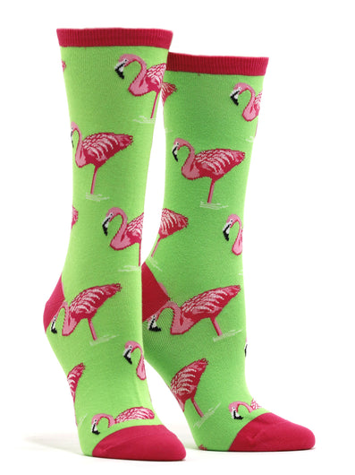 Women's Flamingo Socks