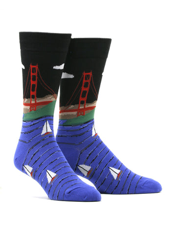 Men's Golden Gate Bridge Socks