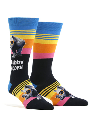 Men's Chubby Unicorn Socks