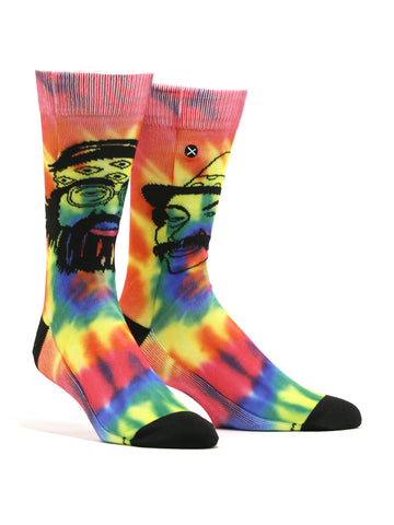 Men's Cheech and Chong Tie Dye Socks