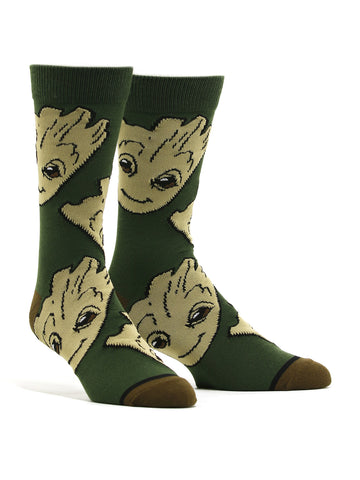Men's Guardians of the Galaxy Groot Socks