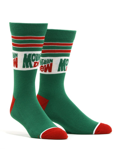 Men's Mountain Dew Retro Socks