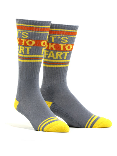 Men's It's OK To Fart Socks