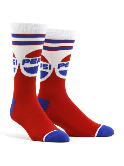 Men's Pepsi Throwback Socks
