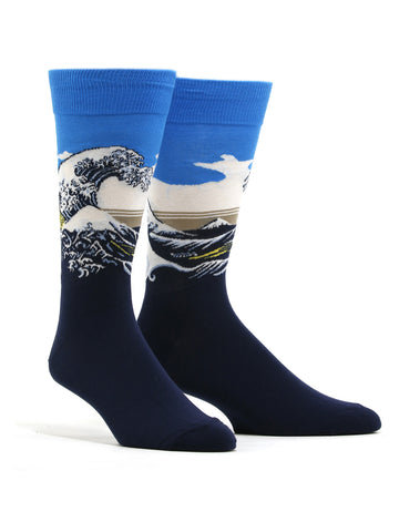 Men's Hokusai - Great Wave Socks