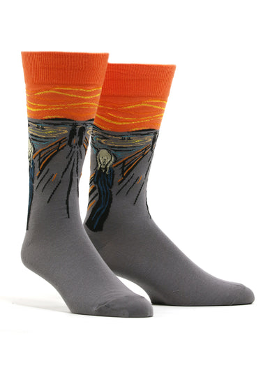 Men's Munch - The Scream Socks