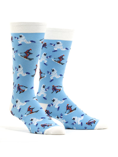 Men's Yeti Vs. Skier Socks