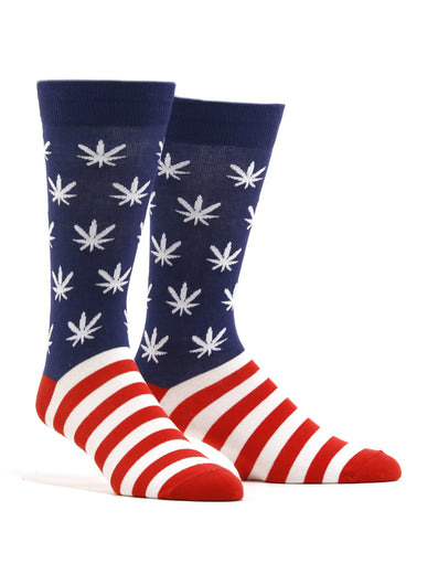 Men's United Weed Stand Socks